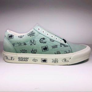 VANS Braindead Old Skool LX Granite Green Sneakers